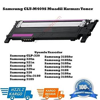 Samsung CLT-M409S Muadil Kýrmýzý Toner Clx3175N, Clp310