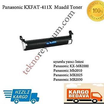 Panasonic KXFAT-411X KX-MB2000/Mb2010/MB2025/MB2030 Muadil Toner