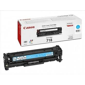 Canon Crg-718 Lbp-7200, 718, Mfc8350 Mavi Toner