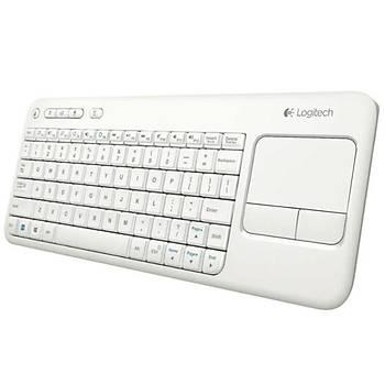 Logitech K400R Dokunmatik Kablosuz Beyaz Smart Tv Klavye 920-005885