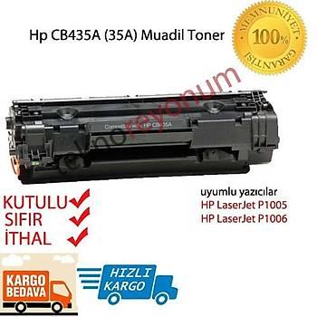 Hp CB435A CB436A CE285A P1005 P1006 P1500 P1503 P1504 P1505 Muadil Siyah Toner