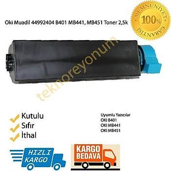 Oki 44992402 B401 MB441, MB451 Muadil Toner