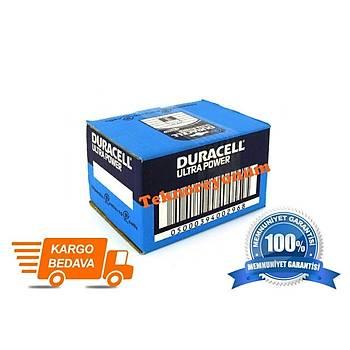 Duracell 9V Alkalin Pil 10Luk Kutu 6LF22/MN1604