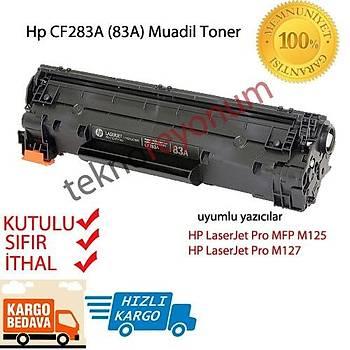 HP CF283A (283A) M125 M126 M127 M128 M201 M202N M225 M226DW YAZICI TONERÝ