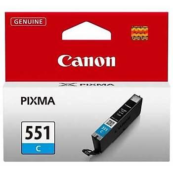 Canon CLI-551C Mg6350, Mg5450, Ip7250 Mavi Kartuþ