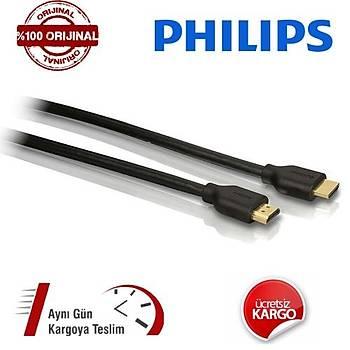 Philips 1,8 Metre HDMI Kablo Altýn Uçlu 3D Full Hd Kablo SWV5401H