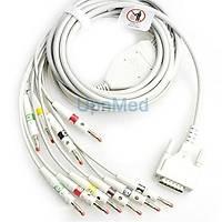 Edan SE-3 / SE-601B 10 Lead Ekg kablosu 15 pins