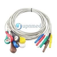 Holter ECG 7 kablo seti, Din2.0