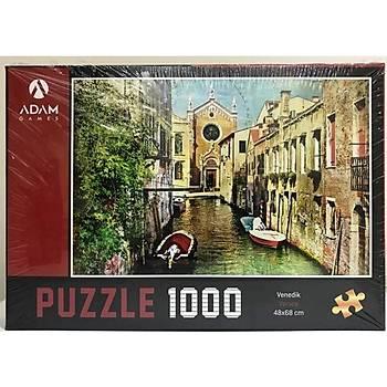 Adam Games Venedik 1000 Parça Puzzle 48x68 cm