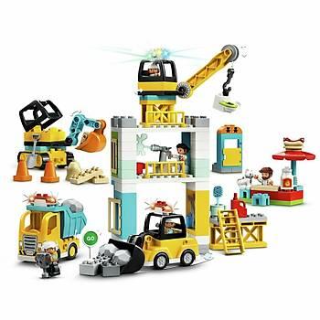 Lego Duplo Kule Vinç ve Ýnþaatý