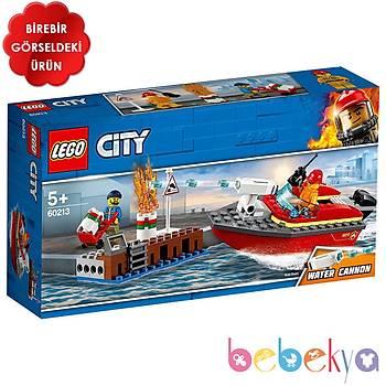 LEGO CITY DOCK SIDE FIRE LSC60213