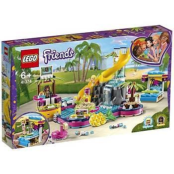 Lego Friends Andrea'nýn Havuz Partisi 41374