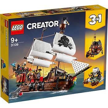 LEGO Creator Pirate Ship 3'ü 1 Arada Tekne Adasý Seti 1264 Parça