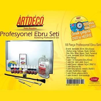 Artdeco 016 Es-9 Profesyonel Ebru Seti