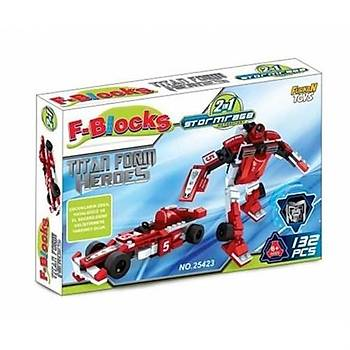 F-blocks Heroes Serisi 132pcs