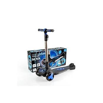 Cool Wheels Nova Iþýklý Scooter Mavi FR-59205