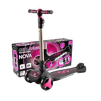 Cool Wheels Nova Pembe Iþýklý Scooter