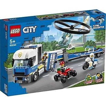 Lego City Polis Helikopteri Nakliyesi 60244
