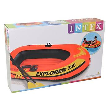 INTEX EXPLORER BOT SET  200 (95Kg) 185x94x41 CM (POMPA VE KÜREK)