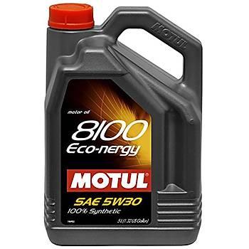 MOTUL 8100 ECO NERGY 5W30 5LT