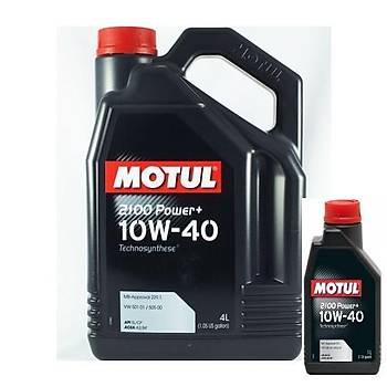 MOTUL 2100 POWER+ 10W/40 / 4 L+1: 5LT