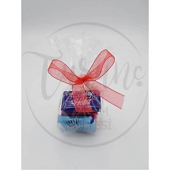 Sevgiliye Hediye Kutulu Ayýcýk Ve Çikolata Sevgililer Günü Hediyesi