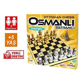 Redka, Osmanlý Satrancý, Ahþap Satranç, Strateji ve Mantýk Oyunu, Zeka Oyunu