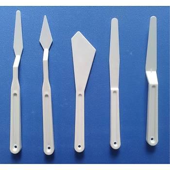 Plastik Spatula Seti, 5 Li Spatul, Akrilik Boya, Yaðlý Boya, Hobi Çalýþmalarý