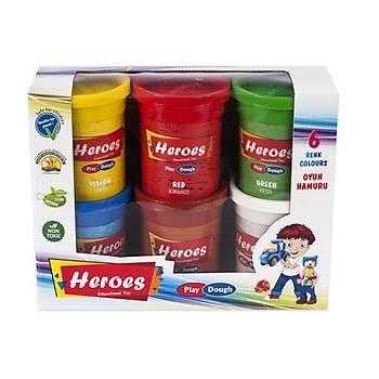 Heroes, Oyun Hamuru, 6 Renk, Büyük Oyun Hamuru, Hýzlý Kargo
