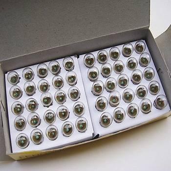 100 Adet, Mini Ampül, Deney Setleri Ýçin, 2,5 V Sarý Ampul, Lamba, Elektrik Devresi