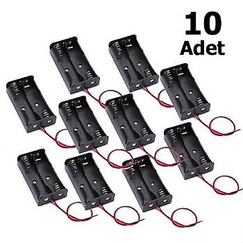 10 Adet, Pil Yuvasý, Pil Yataðý, Ýkili, AA Pil Kutusu, Ýþ Eðitimi, Elektrik Devresi