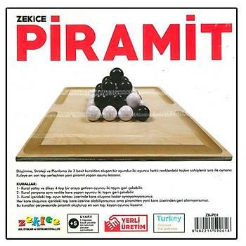 Zekice, Piramit, Zeka Mantýk ve Strateji Oyunu, Piramit Oyunu