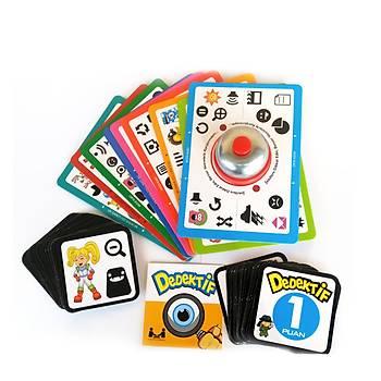 Redka, Dedektif Oyunu, Dikkat Oyunu, Görsel Hafýza ve Zeka Oyunu, Eðlenceli Aile Oyunu
