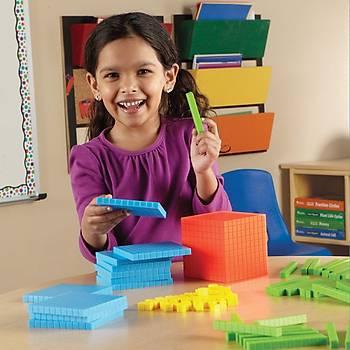 Arýtime, Onluk Taban Bloklarý, Matematik Materyalleri Renkli Bloklar, Birlik, Onluk, Yüzlük