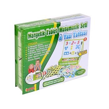 Diytoy, Manyetik Tablet Matematik Seti, Yazý Tahtasý, 98 Parça,  Eðitim Seti, Magnet
