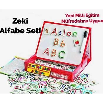 Diytoy, Manyetik Tablet, Alfabe, Matematik, Tangram, 3 Adet Set, Magnet Eðitim Seti