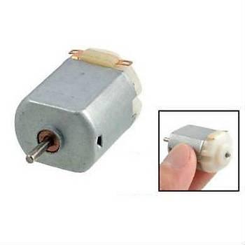 1 Adet, Deney Motoru, Dc Motor, Mini Motor, Elektrik Motoru