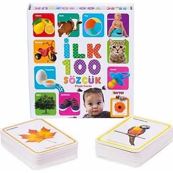 Diytoy, Ýlk 100 Sözcük, Flash Cards, Eðitici Kart, Zeka Kartlarý, Ýlk Sözcükler