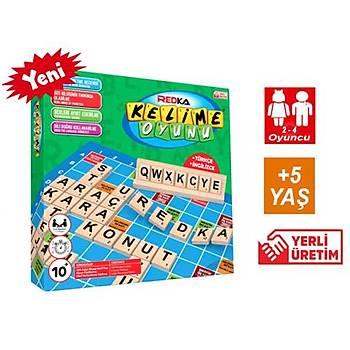 Redka, Ahþap Kelime Oyunu, Kelime Üretme, Kelime Avý, Eðlenceli  Aile Oyunu