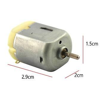 30 Adet, Deney Motoru, Dc Motor, Mini Motor, Elektrik Motoru