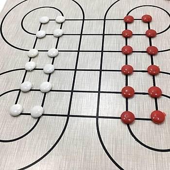 Surakarta ve Dümen, 2 Oyun, Strateji Oyunu, Ahþap Zeka Oyunlarý, Taktik ve Mantýk Oyunu