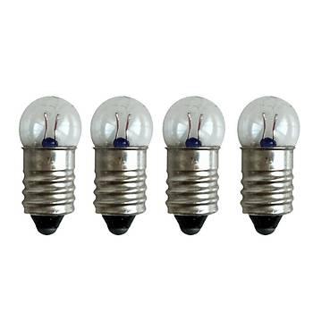 10 Adet, Mini Ampül, Deney Setleri Ýçin, 2,5 V, Sarý Ampul, Lamba, Elektrik Devresi