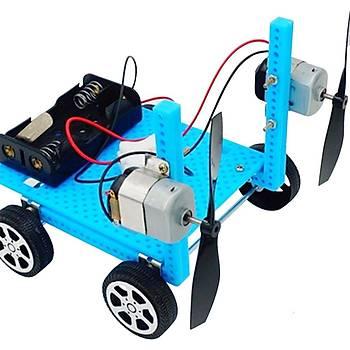 10 Adet, Motor ve Pervane, Deney Seti, Eðitici Mini Motor Devresi, Elektrik Motoru