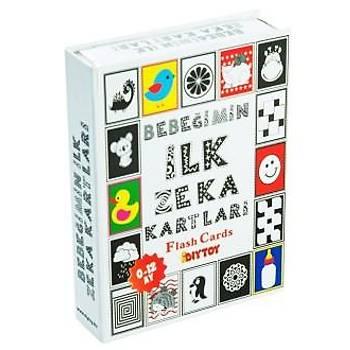 Diy Toy, Zeka Kartlarý, 3 lü Set, 50 Sözcük, Ýlk Zeka, 50 Hayvan, Eðitici Hafýza Kartlarý