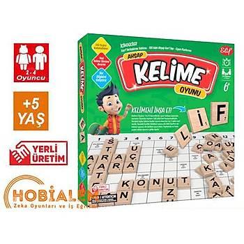 Ahþap, Kelime Üretme Oyunu, Kelime Avý, Kelime Oyunu, Aile Oyunu, Yerli Üretim