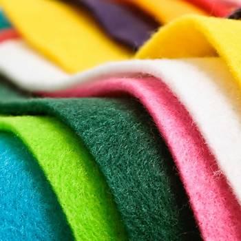 10 Renk, Keçe, A4 Boyutunda, Okul, El Ýþi, Hobi Keçesi, Süsleme, Kumaþ Keçe