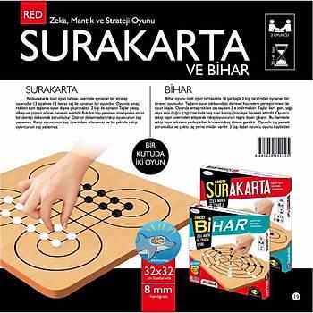 Redka, Surakarta ve Bihar, 2 Oyun 1 Arada, Zeka Oyunu, Akýl Oyunu, Mantýk ve Strataji Oyunu
