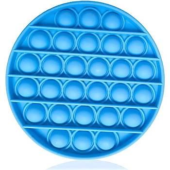 Push Pop, Pop It, Push Bubble Fidget, Mavi Renkli, Stres Atýcý,  Rahatlatýcý, Duygusal Oyuncak