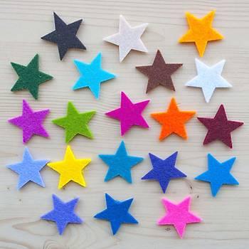 10 Renk, Keçe, 50x70 Cm, Büyük Okul, El Ýþi, Hobi Keçesi, Süsleme, Kumaþ Keçe