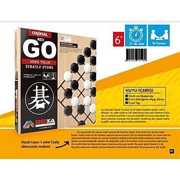 Redka, Go Oyunu, Akýl Oyunu, 4000 Yýllýk Strateji ve Zeka Oyunu, Mantýk Oyunu